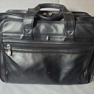 Kenneth Cole Reaction Black Laptop Bag Briefcase